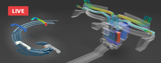 Live E-Seminar | Generative Design for Internal Fluid Flow